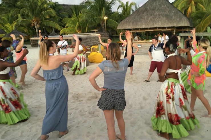 Mauritian hospitality