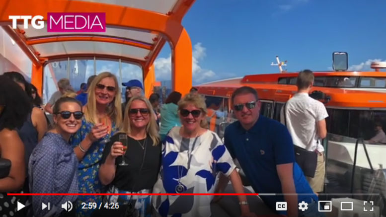 Take a tour of Celebrity Edge - as agents give their verdict