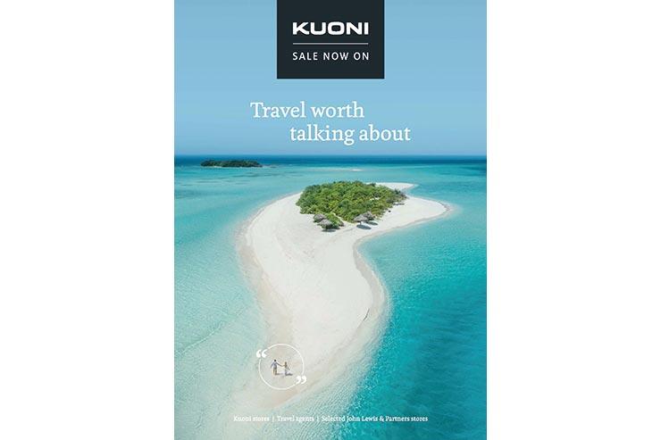 Kuoni tropical island brochure cover