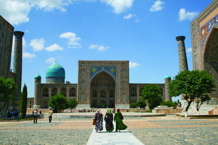 Travel the Silk Road in Uzbekistan