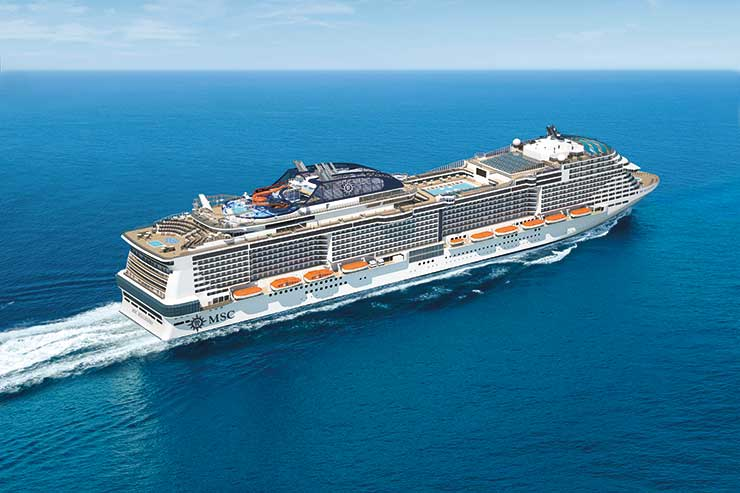 MSC Bellissima will spend her inaugural season in the Mediterranean
