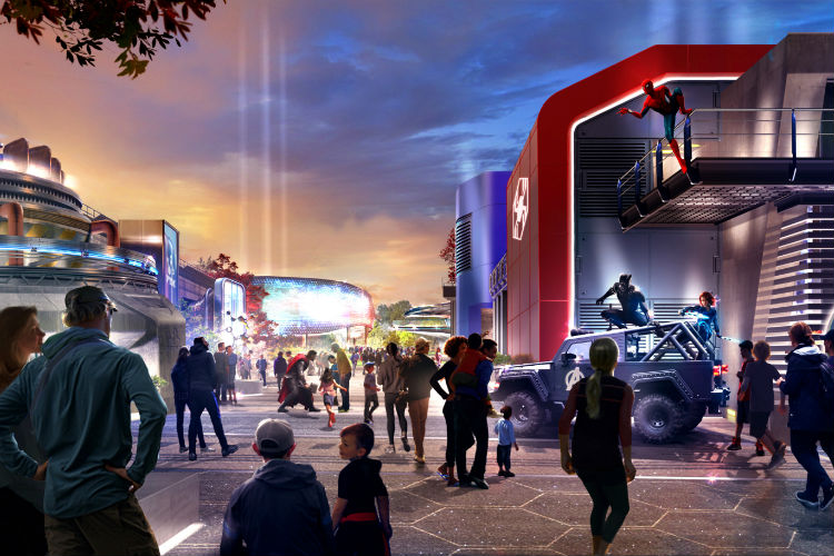 Disneyland Paris teases new Marvel-themed attraction