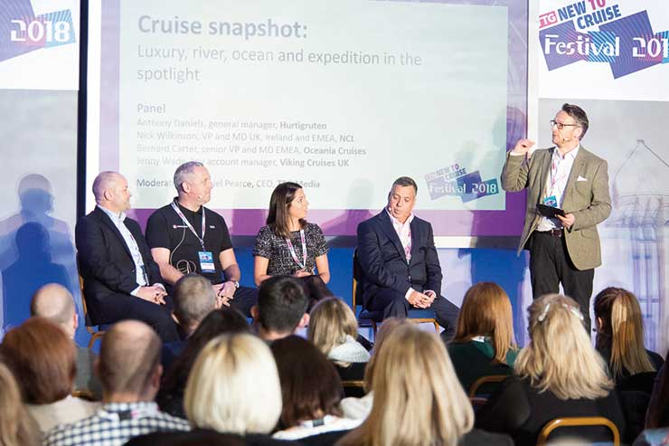 Cruise bosses urge: 'Focus on customer attitudes, not age'