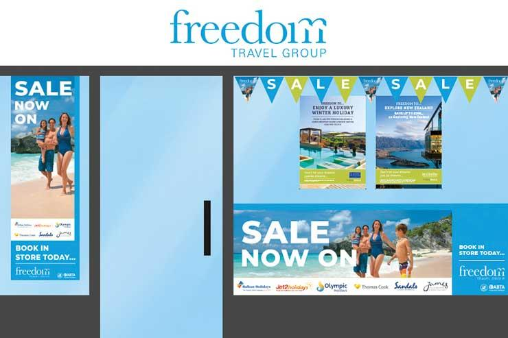 Freedom Travel's door is now closed
