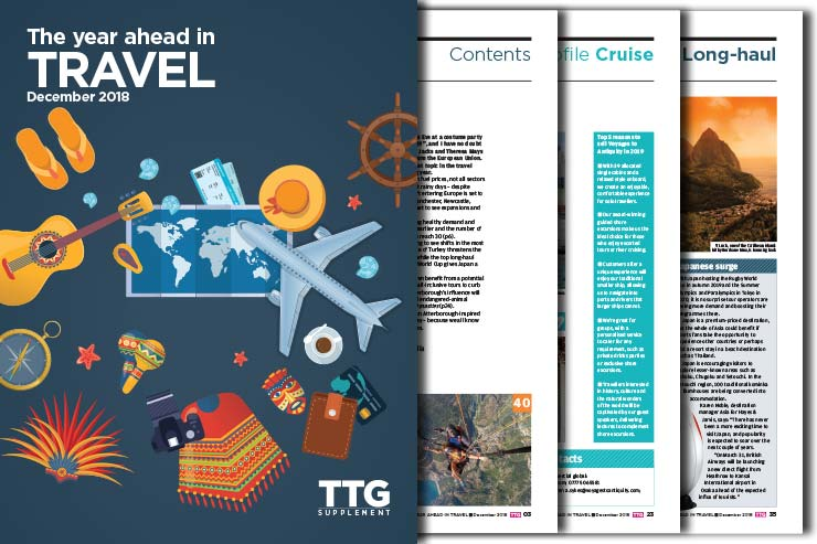 TTG's Year Ahead in Travel 2019