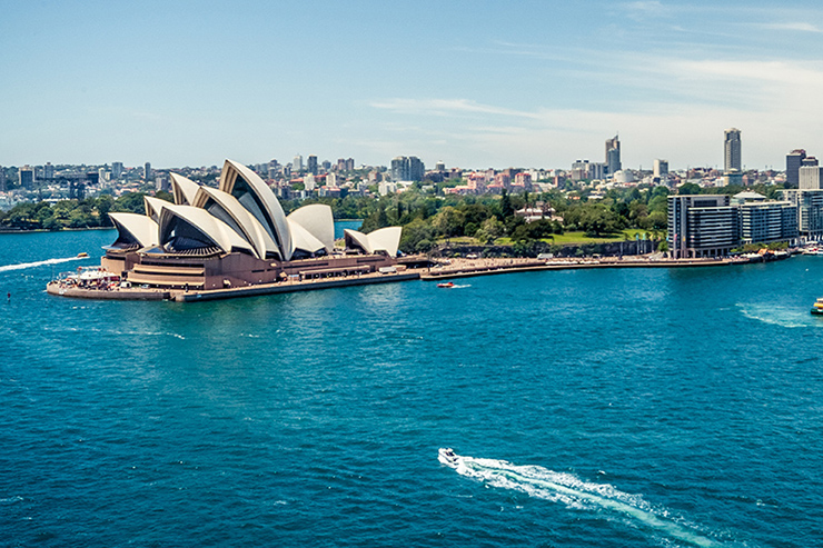 The Australian government has pledged £40 million to help the country's tourism sector recover