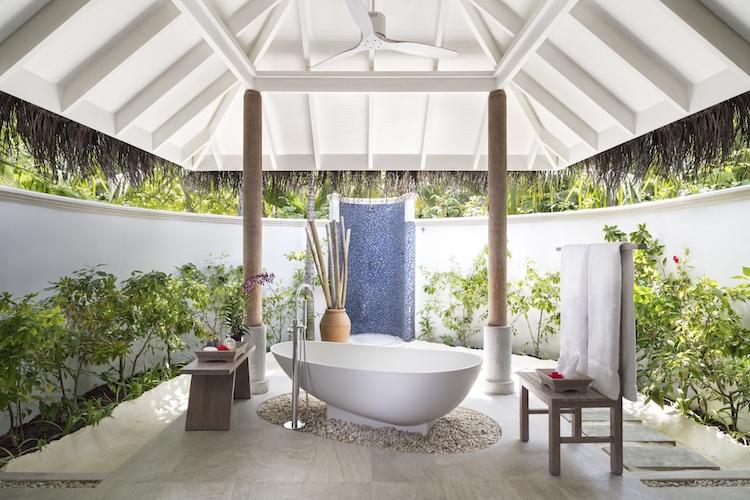 Anantara Dhigu Maldives beach villa