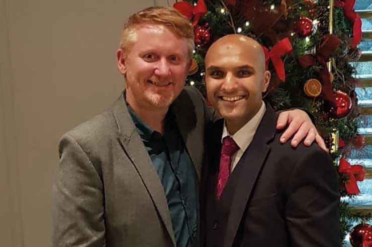Bruce Martin and Vishal Patel