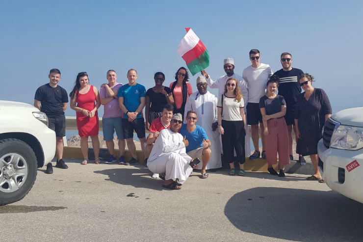 Exploring cities, mountains and deserts on a tour of Oman