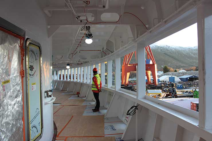 New Hurtigruten ship will 'change the industry'