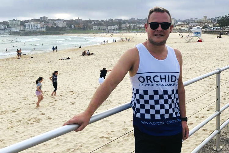 Travel agent's marathon effort to boost charity amid cancer battle