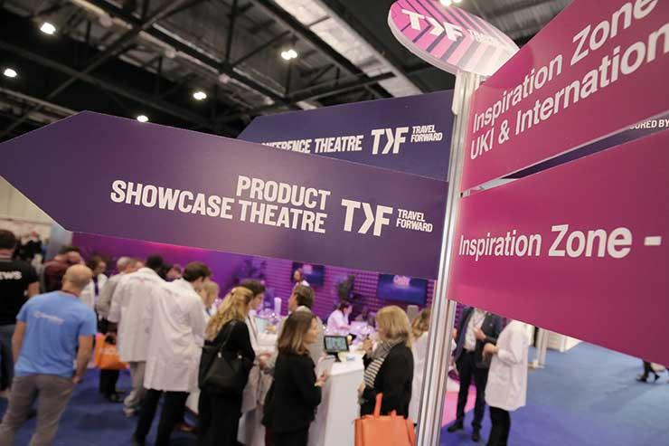 WTM and Travel Forward share the same venue