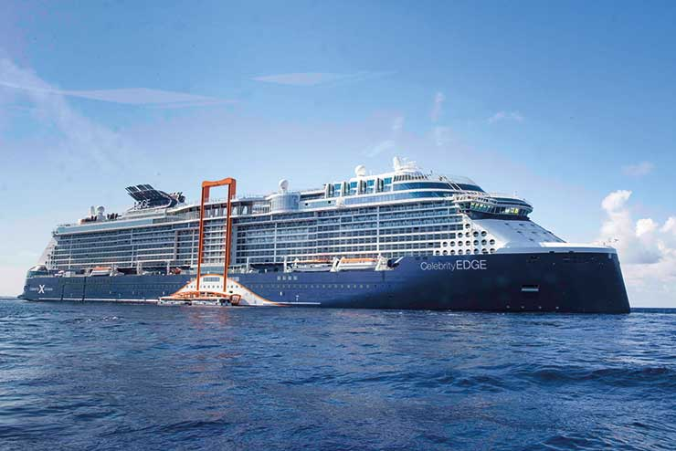 Celebrity Edge: Extra agent places added for UK debut