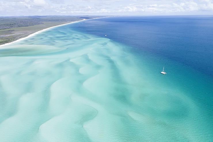 Discover the perfect shade of blue on Australia's Nature Coast