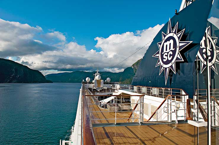 MSC Cruises to start including service charge in fare