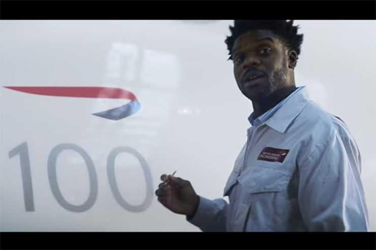 British Airways enlists top celebs for centenary campaign