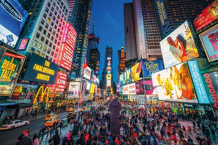 WTM London 2019: Brit visitors to NYC close to peak