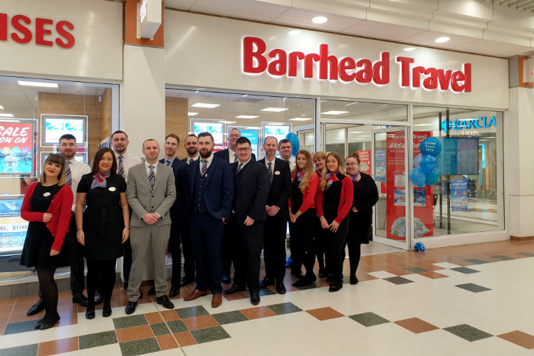 Barrhead branch nets record sales following cruise event