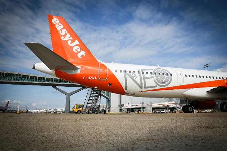 EasyJet 'to become first major net-zero carbon airline'