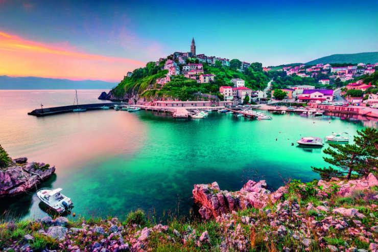 Kvarner Bay, Croatia