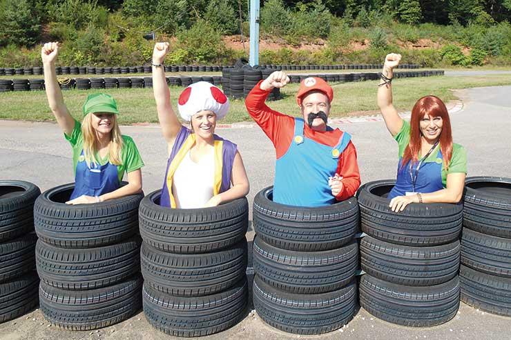 TTC Super Mario characters