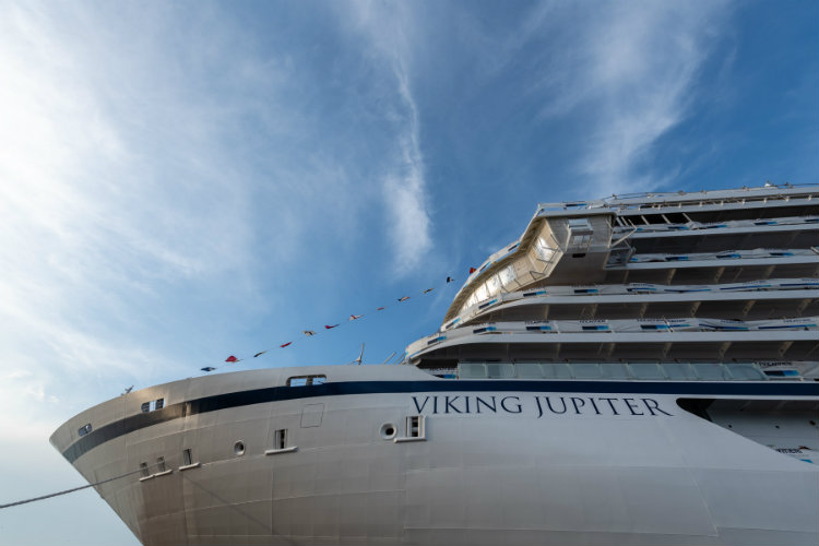 Viking takes delivery of sixth ocean ship, Viking Jupiter
