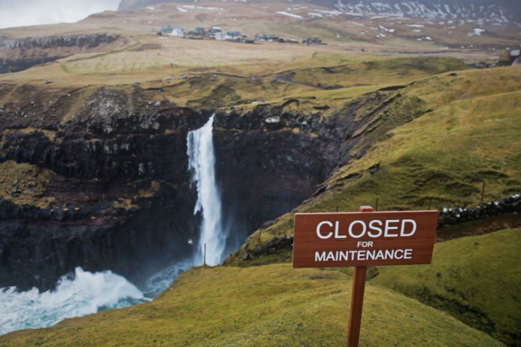 Faroe Islands to 'shut for maintenance' in April