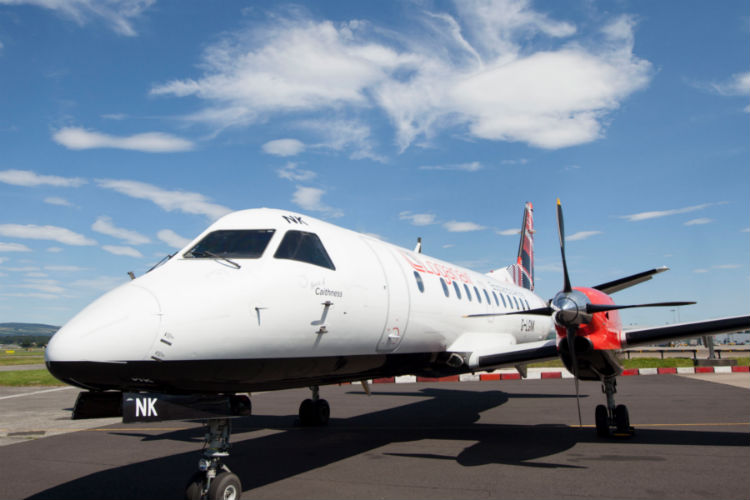 Loganair will end its Glasgow-Southend route on 3 January 2020