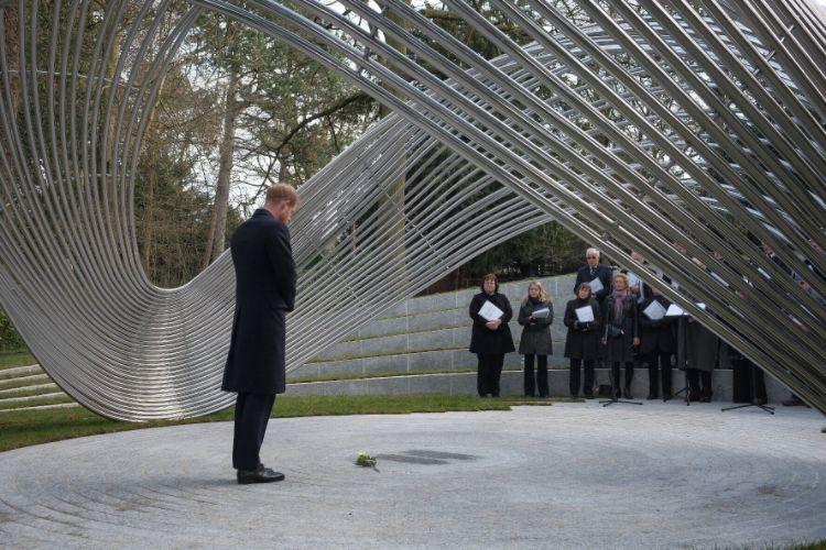 Prince Harry Sousse Bardo Memorial