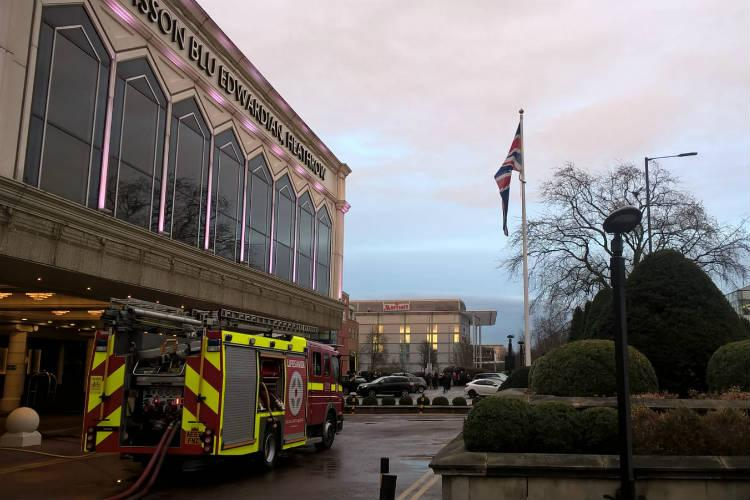 Heathrow Radisson Blu hotel evacuated following sauna fire