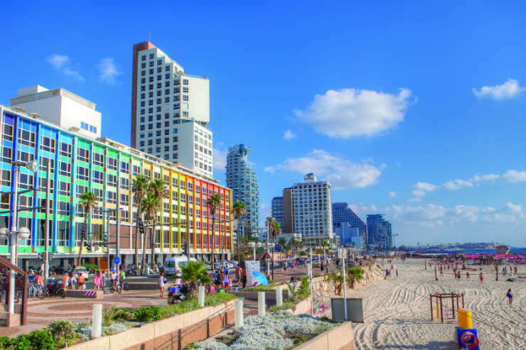 Beach promenade, Tel Aviv