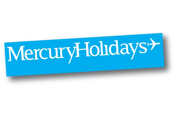 MERCURY HOLIDAYS colour logo