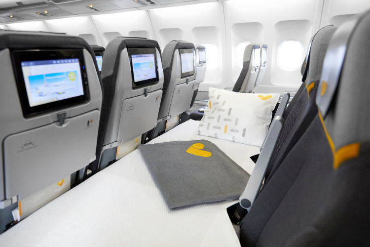 Thomas Cook Airlines unveils long-haul 'sleeper seat'