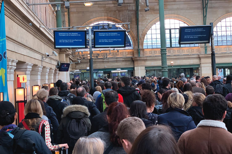 Eurostar warns passengers not to travel for the rest of March