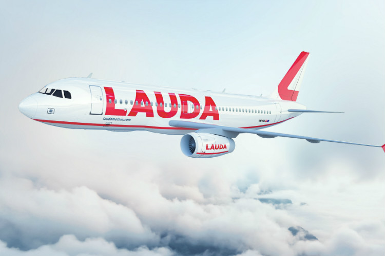 Laudamotion rebrands to Lauda; adds Birmingham, Edinburgh and Liverpool routes