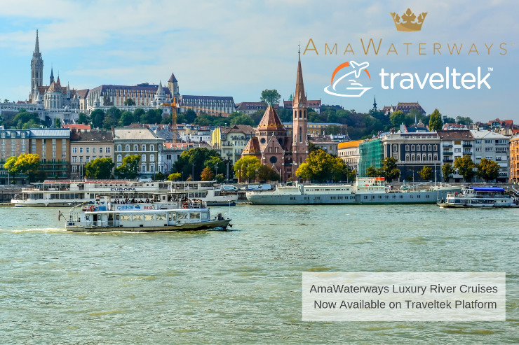 Traveltek adds AmaWaterways to booking platform