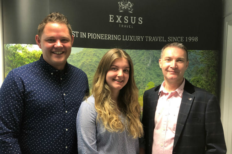 Exsus Travel expands trade team and launches fam programme