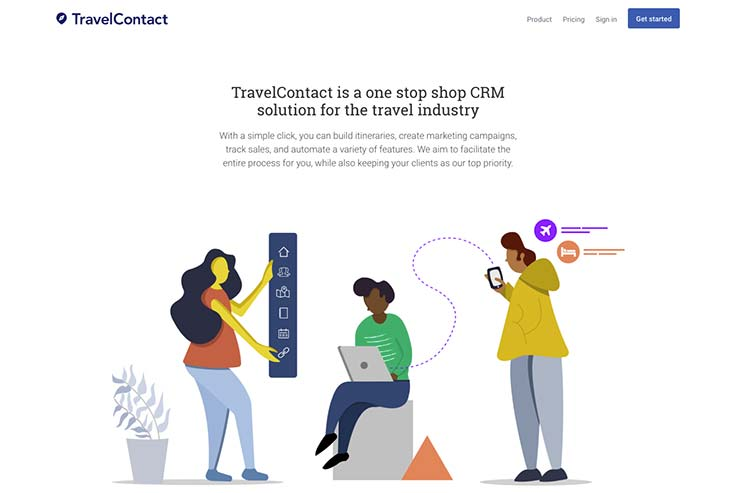 Travel Contact website April 2019