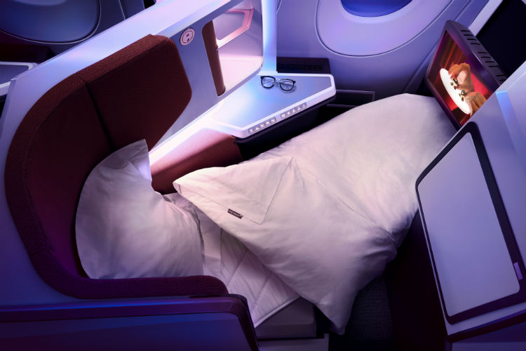 Business Class upgrades