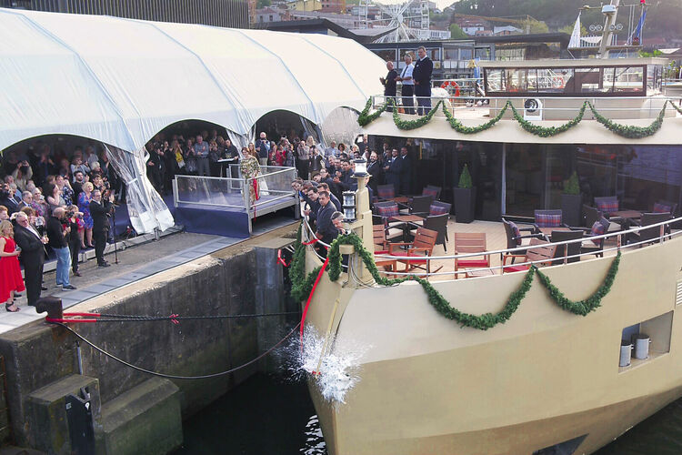 AmaDouro christening AmaWaterways.jpg