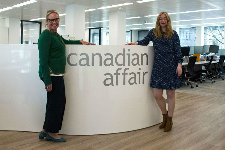 Canadian Affair triples trade team with two new sales executives