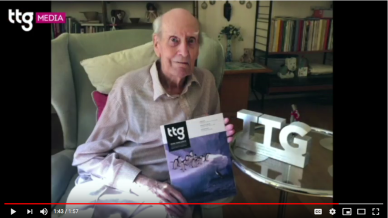 TTG's co-founder on turning 100, and what he thinks of the rebrand