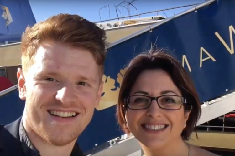 See Julia Lo Bue-Said of advantage christen AmaWaterways' AmaDouro