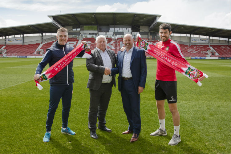 Hays North West renews Wrexham AFC sponsorship deal