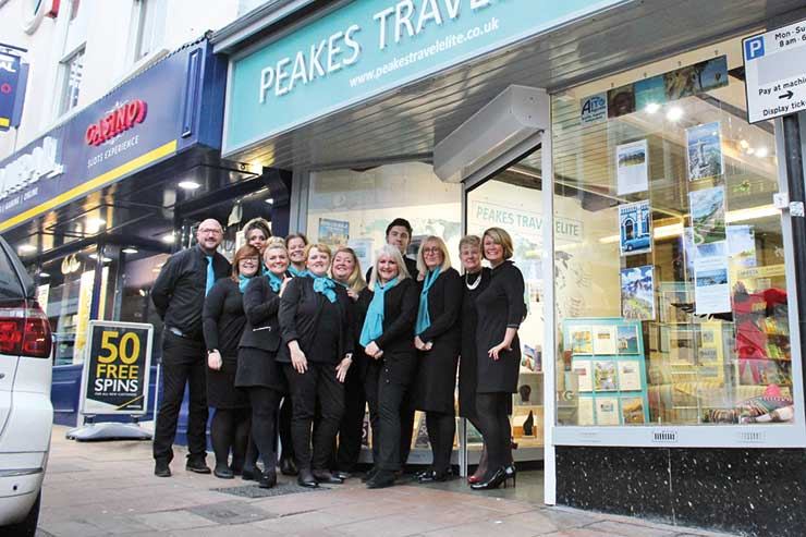 Peakes Travel Elite: UK & Ireland's No.1 Travel Agency