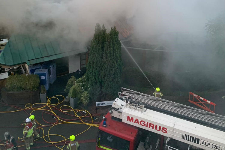 Richmond fire: Firefighters battle vicious blaze at luxury hotel and spa