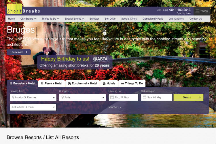 Short Breaks Ltd ceases trading; Abta to protect forward bookings