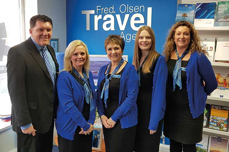 Fred. Olsen Travel, Felixstowe