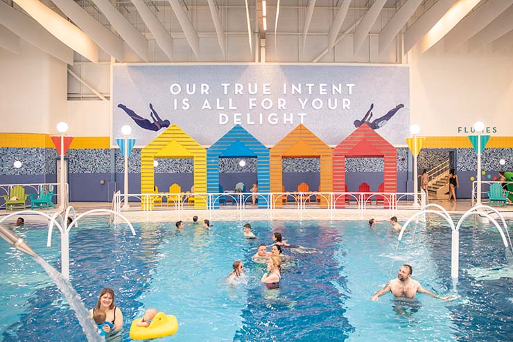 Making a splash in Butlin's Bognor Regis' new pool