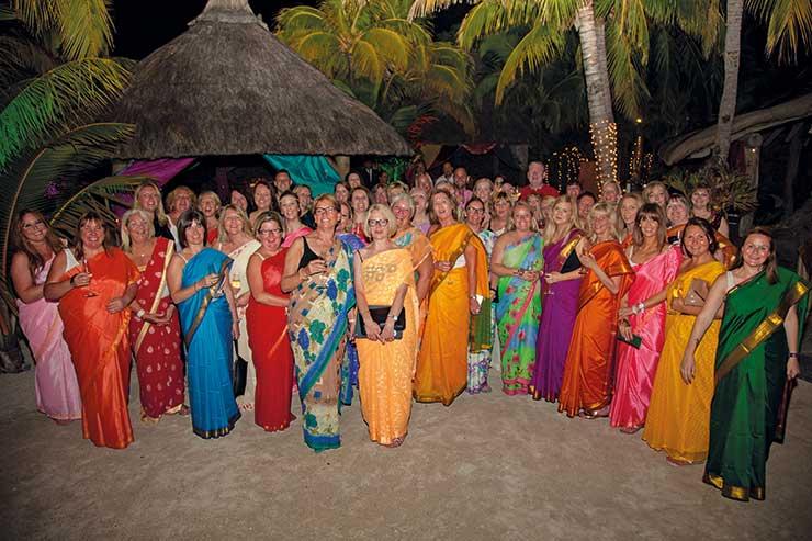 Designer-Travel party